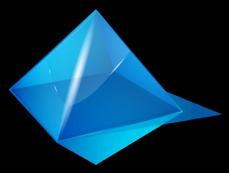 Transparent Triangle