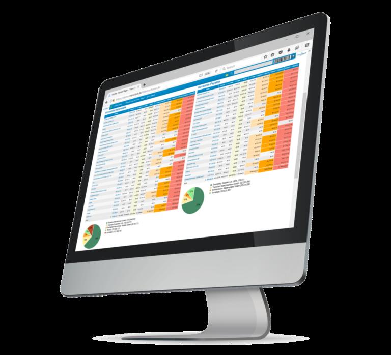 Transfact CRM 客户 和销售订单界面